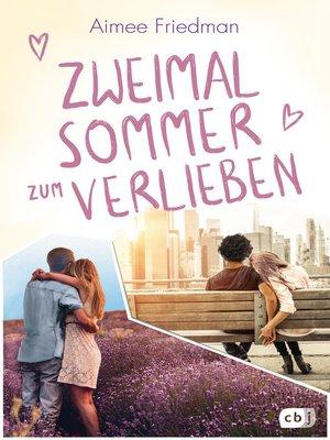 cover image of Zweimal Sommer zum Verlieben