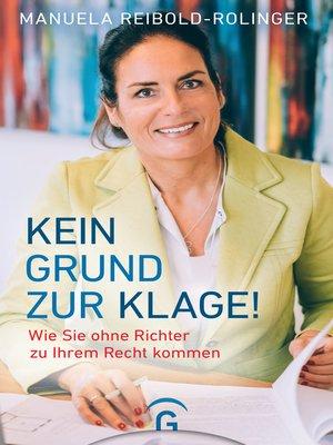 cover image of Kein Grund zur Klage!