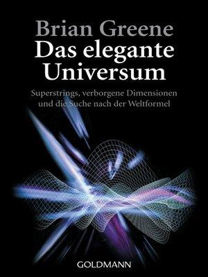 cover image of Das elegante Universum