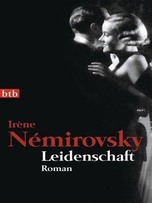 cover image of Leidenschaft