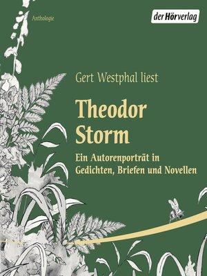 cover image of Gert Westphal liest Theodor Storm