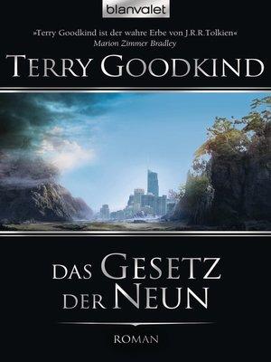 cover image of Das Gesetz der Neun