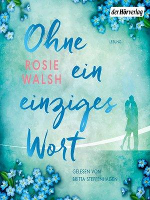 cover image of Ohne ein einziges Wort