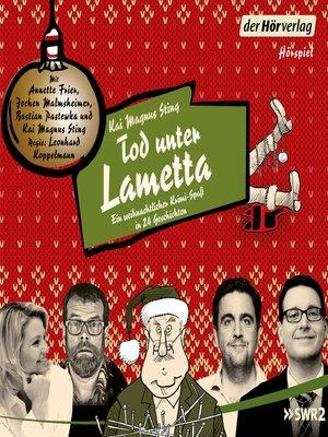 cover image of Ein weihnachtlicher Krimi-Spaß in 24 Kapiteln