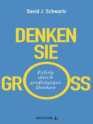 cover image of Denken Sie groß!