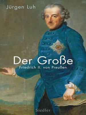 cover image of Der Große