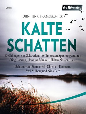 cover image of Kalte Schatten