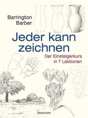 cover image of Jeder kann zeichnen