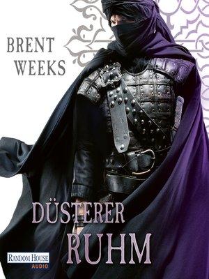 cover image of Düsterer Ruhm