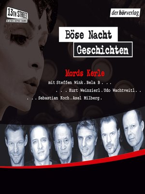 cover image of Böse-Nacht-Geschichten