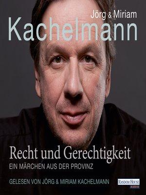cover image of Recht und Gerechtigkeit