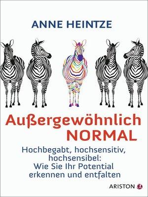 cover image of Außergewöhnlich normal