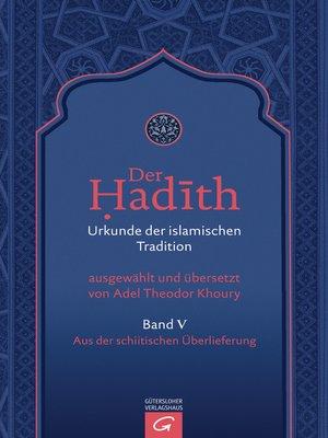 cover image of Aus der schiitischen Überlieferung