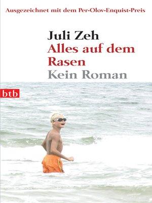cover image of Alles auf dem Rasen