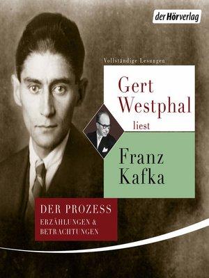 cover image of Gert Westphal liest Franz Kafka