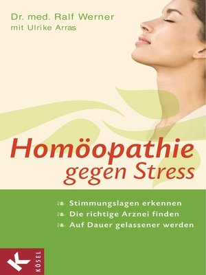 cover image of Homöopathie gegen Stress