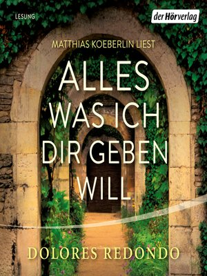 cover image of Alles was ich dir geben will