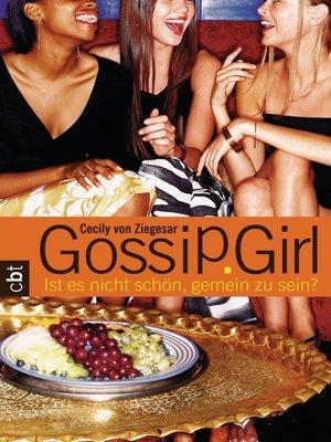 cover image of Gossip Girl 1