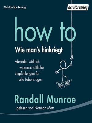 cover image of HOW TO--Wie man's hinkriegt