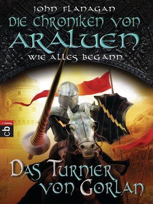 cover image of Das Turnier von Gorlan