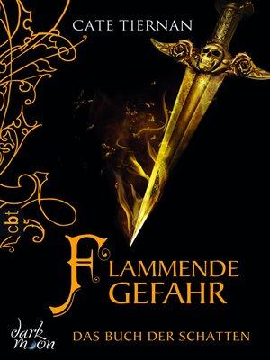 cover image of Das Buch der Schatten--Flammende Gefahr