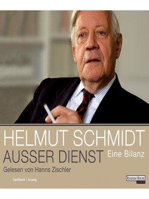 cover image of Außer Dienst