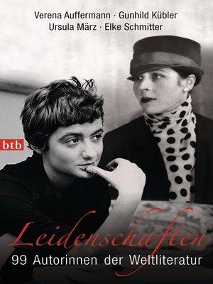 cover image of Leidenschaften
