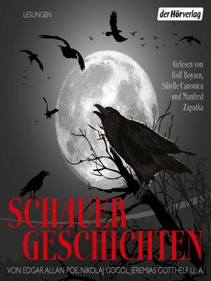 cover image of Schauergeschichten
