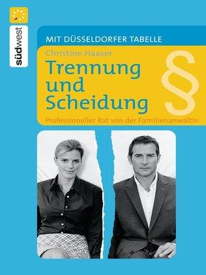 cover image of Trennung und Scheidung