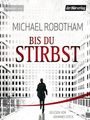 cover image of Bis du stirbst
