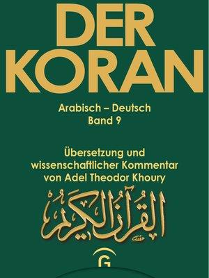 cover image of Der Koran--Arabisch-Deutsch