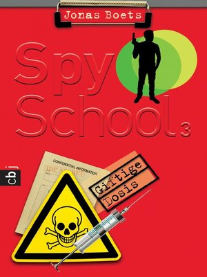 cover image of Spy School--Giftige Dosis