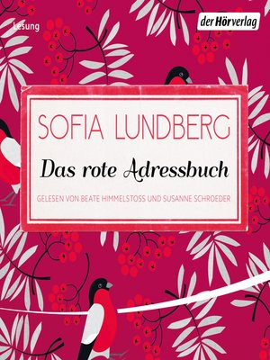 cover image of Das rote Adressbuch