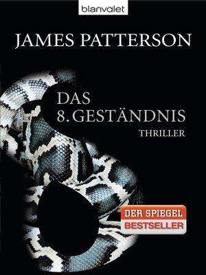 cover image of Das 8. Geständnis--Women's Murder Club -