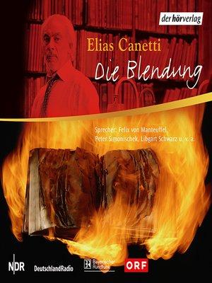 cover image of Die Blendung