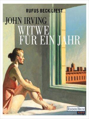 cover image of Witwe für ein Jahr