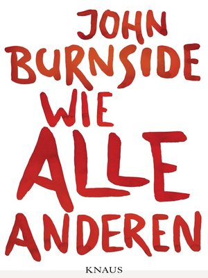 cover image of Wie alle anderen