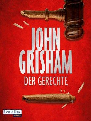 cover image of Der Gerechte