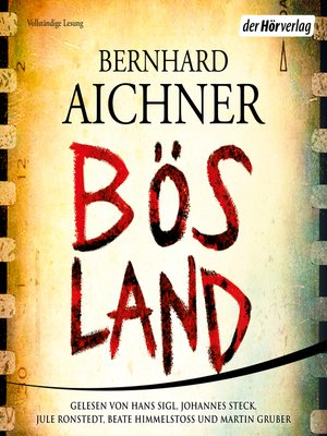 cover image of Bösland