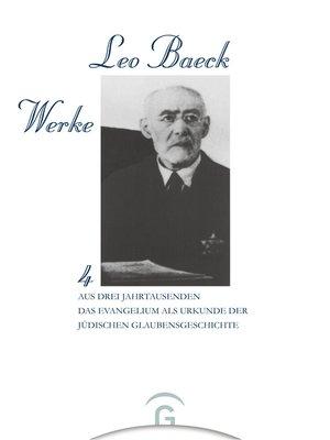cover image of Aus Drei Jahrtausenden