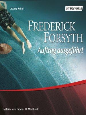 cover image of Auftrag ausgeführt