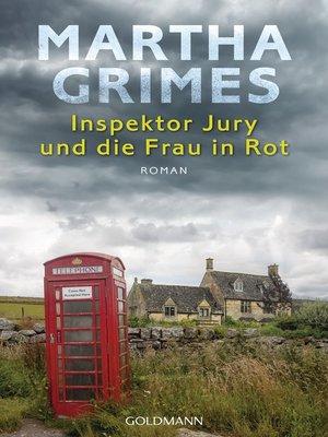 cover image of Inspektor Jury und die Frau in Rot