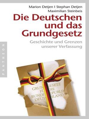 cover image of Die Deutschen und das Grundgesetz