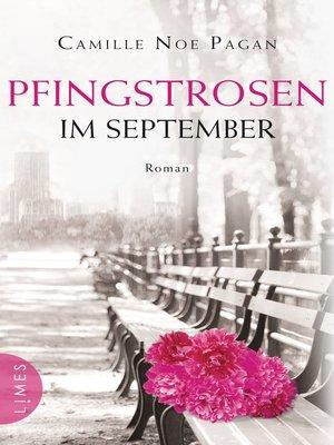 cover image of Pfingstrosen im September