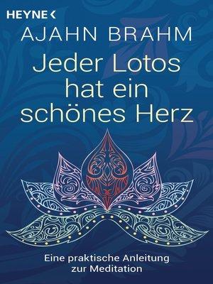 cover image of Jeder Lotos hat ein schönes Herz