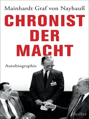 cover image of Chronist der Macht