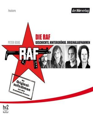 cover image of Die RAF