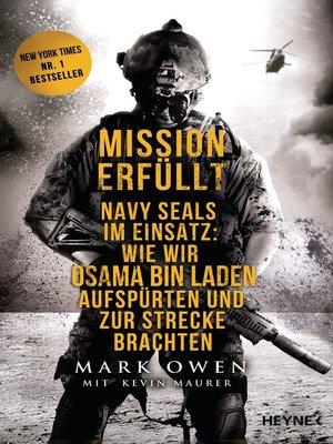 cover image of Mission erfüllt
