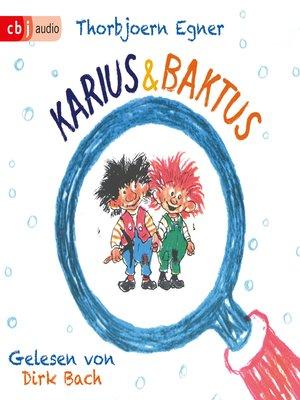cover image of Karius und Baktus
