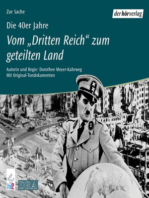 cover image of Die 40er Jahre